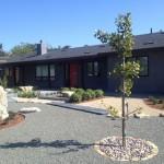 Custom home remodel Encinitas CA exterior landscaping