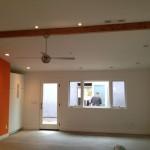 Custom living room remodel with lighting and storage Encinitas CA