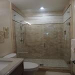Frameless shower doors bathroom remodel