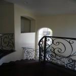 Top of radius staircase