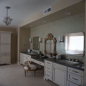 Luxurious his and her bathroom design by DM Build bathroom remodeling services