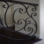 Wrought iron baluster railing by Carlsbad Contractor DM Build, Inc.