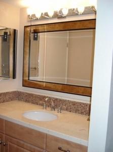 Custom bathrooms by DM Building INC.