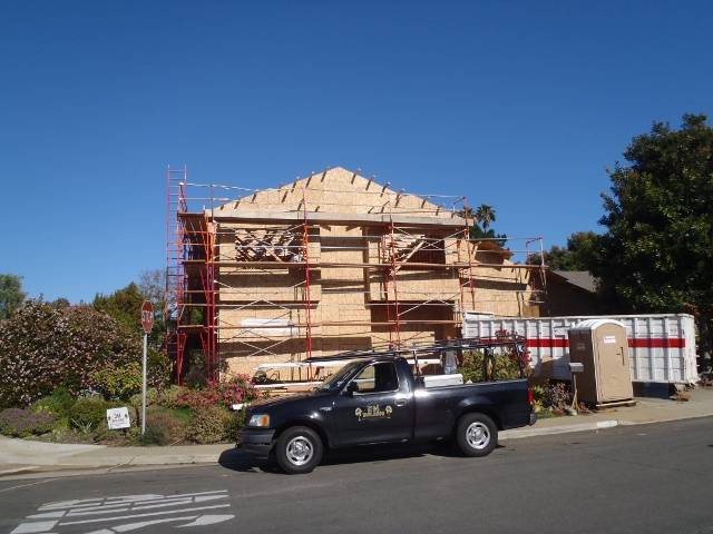 Second story addition example by DM Building INC.