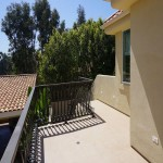 Carlsbad home remodel contractor exterior balcony with staircase