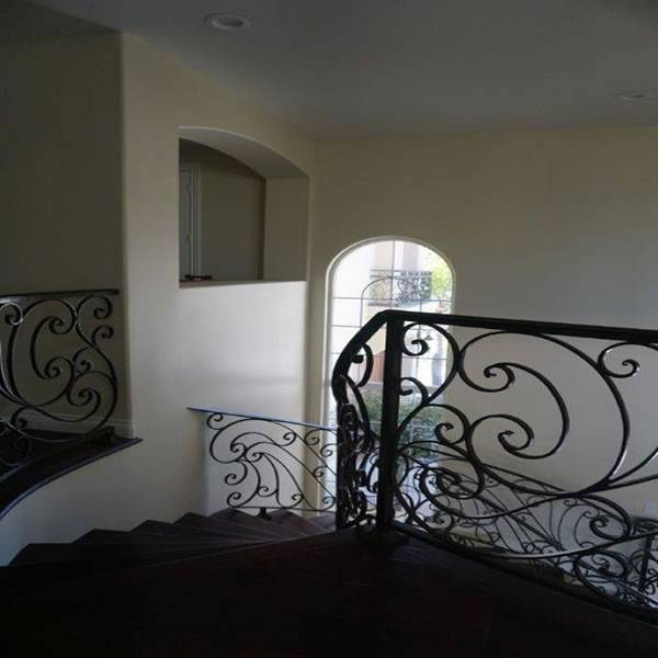Top of radius staircase