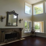 Corner window design in Carlsbad Home