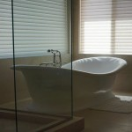 Free standing bathroom tub design by bathroom remodel contractor DM Build