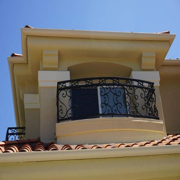 Mediterranean Bedroom Balcony by Carlsbad Custom home builder DM Build