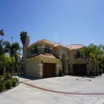 New Mediterranean Carlsbad home designed by Carlsbad custom home builder DM Build