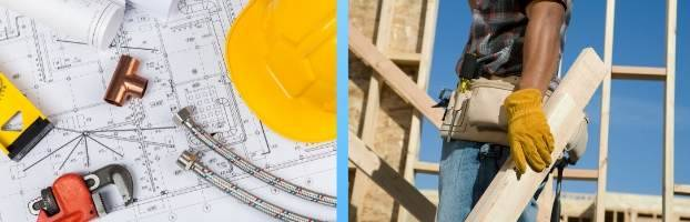 blue prints and how to hire a general contractor